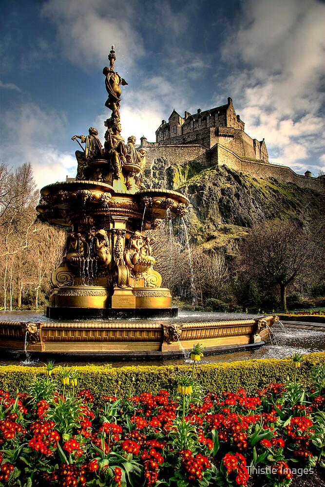 Portrait of a Castle by Thistle Images