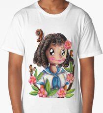 Curly Sweetheart Long T-Shirt