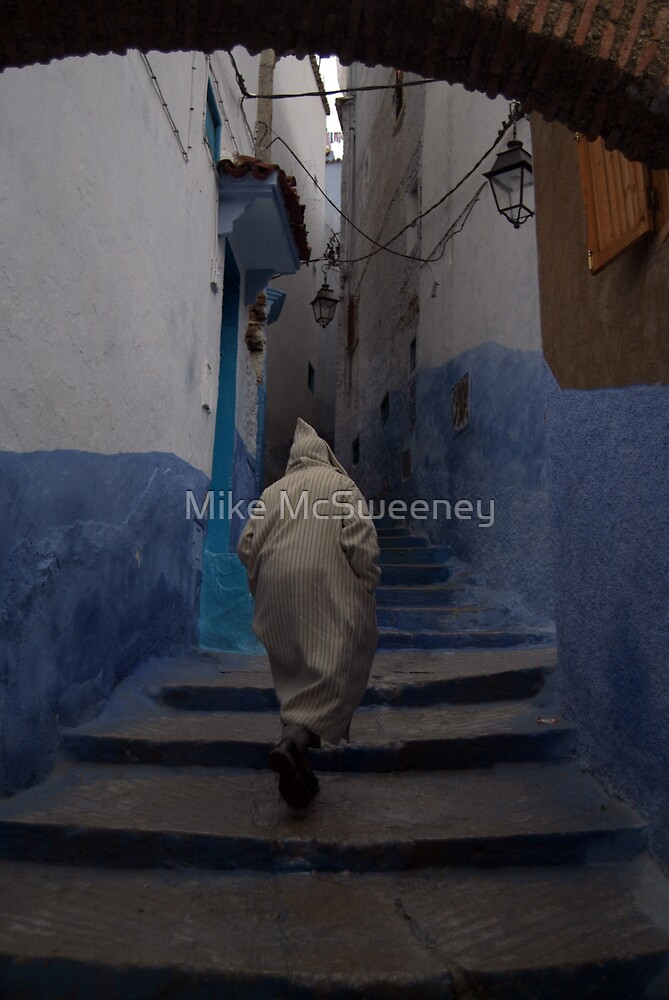 Rainy day in Chefchaouen by Mike McSweeney