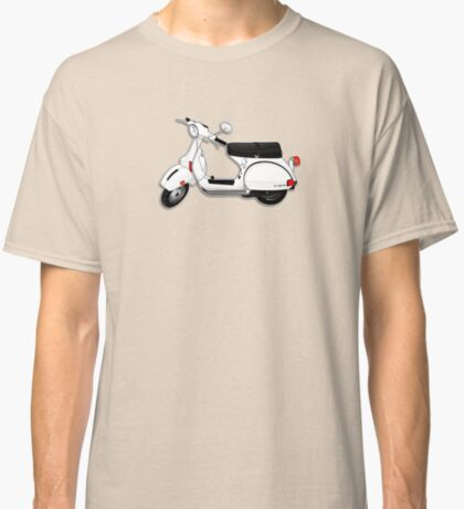 Scooter T-shirts Art: P Series Scooter Design Classic T-Shirt
