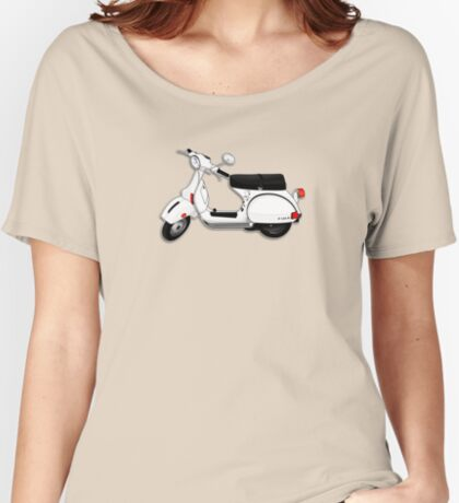 Scooter T-shirts Art: P Series Scooter Design Women's Relaxed Fit T-Shirt