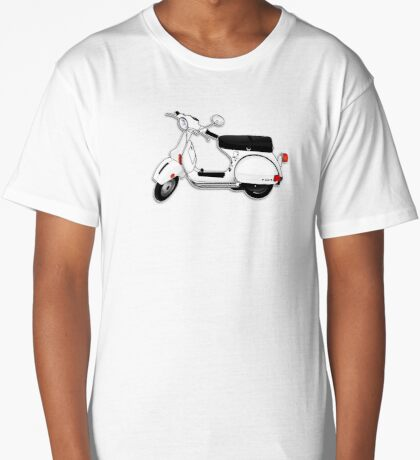 Scooter T-shirts Art: P Series Scooter Design Long T-Shirt