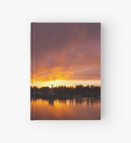 Burning Hardcover Journal