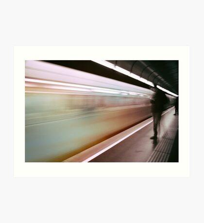 photo UNDERGROUND #underground #streetphoto Art Print