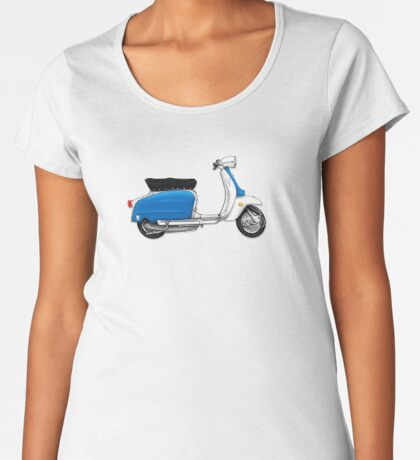 Scooter T-shirts Art: Serveta Li 150 Special, Original Color Design Women's Premium T-Shirt