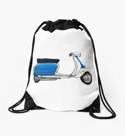 Scooter T-shirts Art: Serveta Li 150 Special, Original Color Design Drawstring Bag