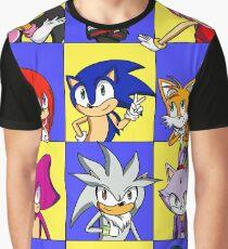 Sonic Squares Graphic T-Shirt