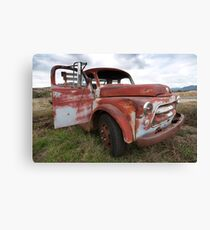 one old timer Canvas Print