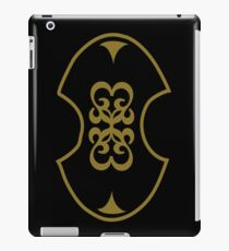 Celtic shield decoration iPad Case/Skin