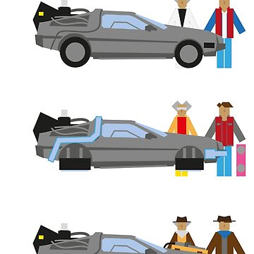 Back to the Future Delorian by Karl-der-Tolle