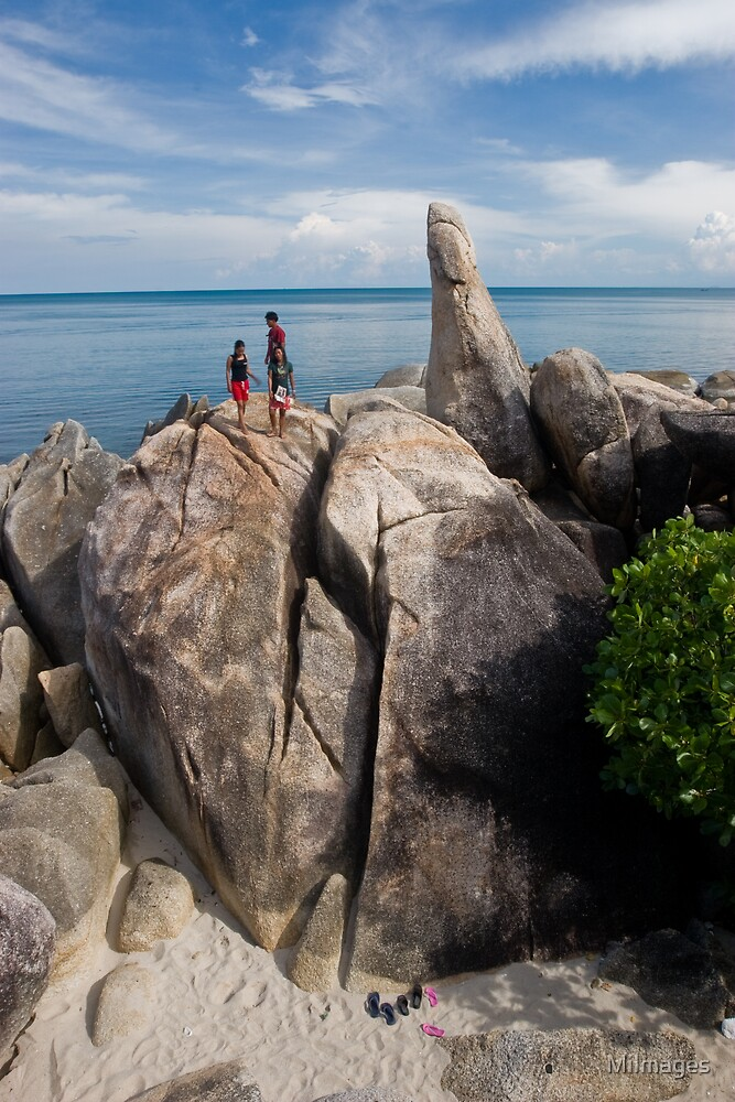 Grandfather Grandmother Rocks by MiImages