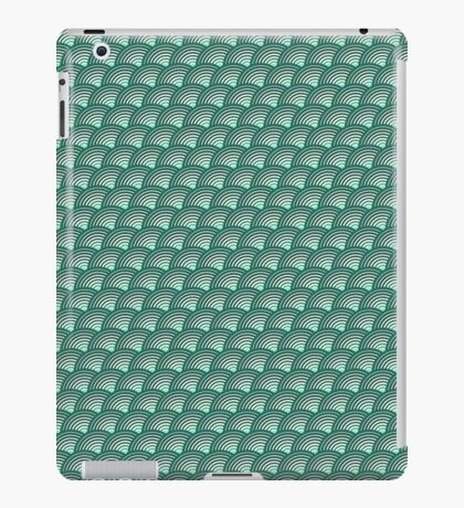 Scales pattern, Japanese inspired iPad Case/Skin