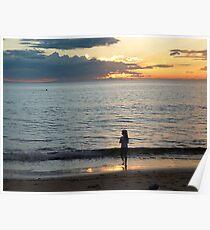 Cowan Sunset Poster