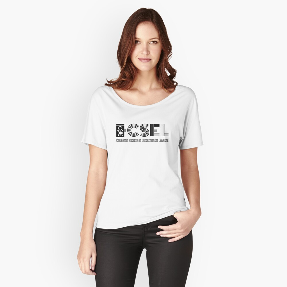 CSEL Classic Logo (Black) Women's Relaxed Fit T-Shirt Front