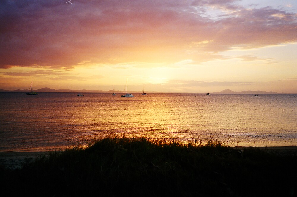 Great Keppel Sunset by Liz Cooper