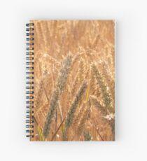 Golden Wheat - Wheatfields Spiral Notebook