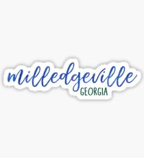 Milledgeville, Georgia Sticker