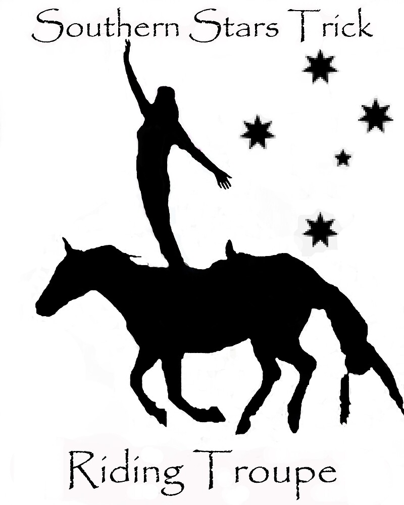 Southern Stars Trick Riding Troupe by shanus