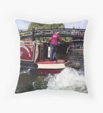 Making a Splash!  Camden Series #1 Throw Pillow