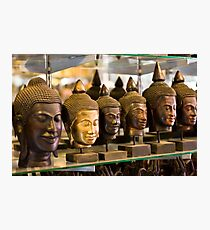 Buddhas (Siem Reap, Cambodia) Photographic Print