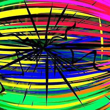 Digital Abstract  by TinaCruzArt1