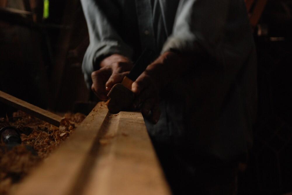 carpenter at work by renju