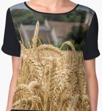 The wheat field Chiffon Top