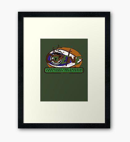 Coffeine Framed Print