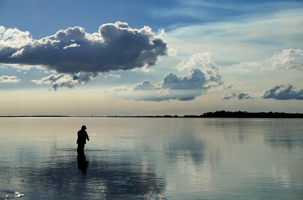 Great Sandy Straits Fishing by Peter Merten