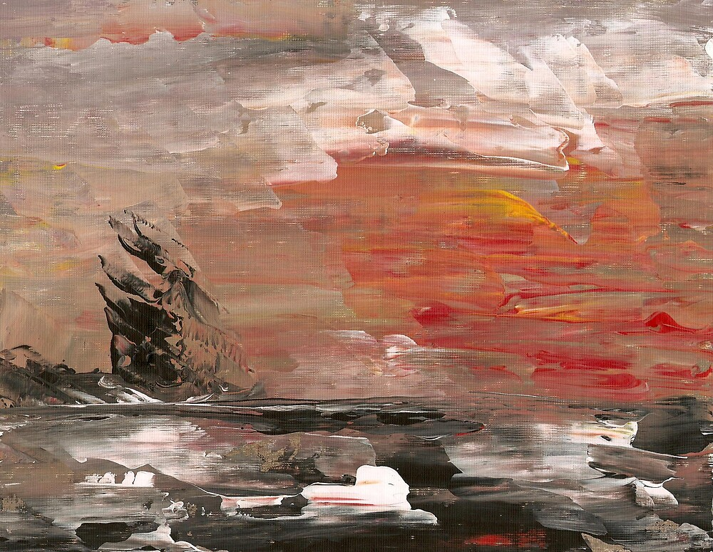 Ship Wreck by Ginger Lovellette
