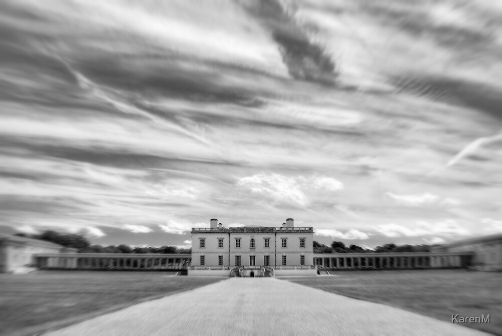 Greenwich - Queen's House BW by KarenM