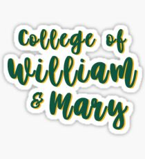 College of William and Mary Sticker
