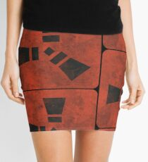 RUST Mini Skirt