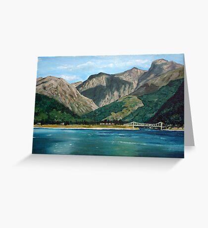 Scottish Loch Greeting Card