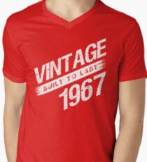Vintage 1967 Birth Year T-Shirt
