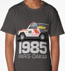 Three Diamond Pajero Turbo 1985 Rally Paris Dakar Winner Long T-Shirt