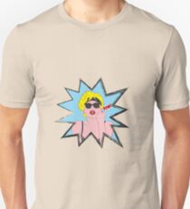 Lady Gaga Pop Art Pow! Unisex T-Shirt