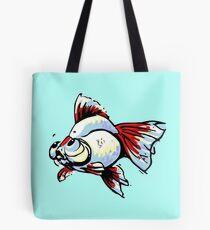 Tancho Telescope Goldfish Tote Bag