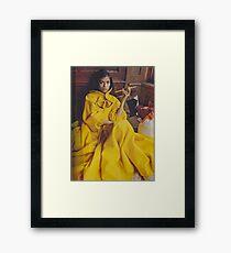 Bianca Jagger Framed Print