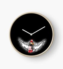 Amelia Pond And The Crack In The Wall Clock