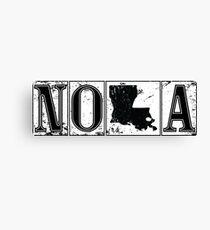 NOLA Street Tiles (New Orleans) Canvas Print