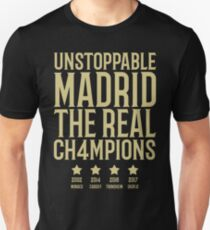 Real Madrid 2017 super cup winner T-Shirt