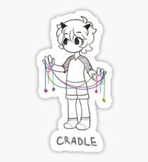 String Cradle Sticker