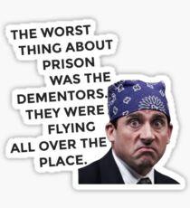 Prison Mike/Michael Scott - The Office US Sticker