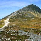 Croagh Patrick mountain by John Quinn
