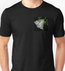 hibiscus flower in the rain Unisex T-Shirt