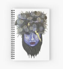 Brain Fog Spiral Notebook