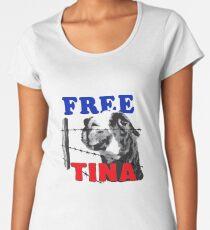 FREE TINA Women's Premium T-Shirt