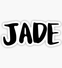 JADE Sticker