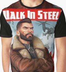 Walk in Steel Graphic T-Shirt